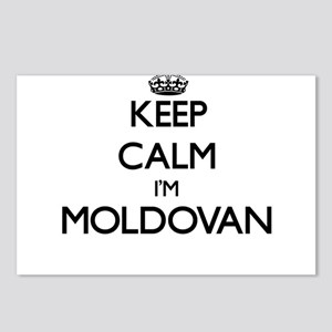 Keep Calm I'm Moldovan Postcards (Package of 8)