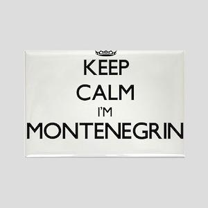 Keep Calm I'm Montenegrin Magnets
