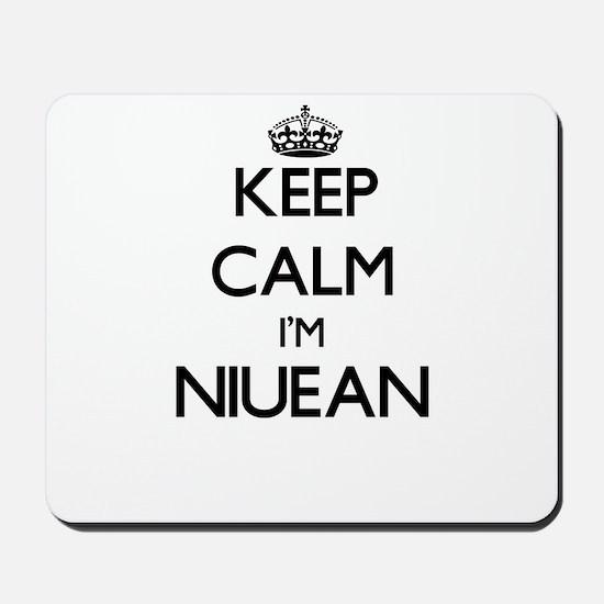 Keep Calm I'm Niuean Mousepad