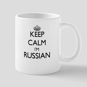 Keep Calm I'm Russian Mugs