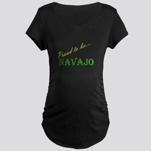Navajo Maternity Dark T-Shirt
