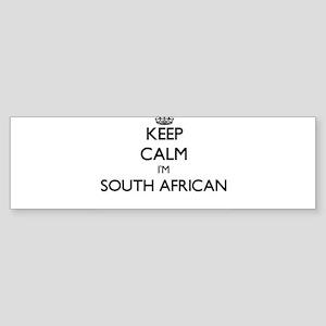 Keep Calm I'm South African Bumper Sticker