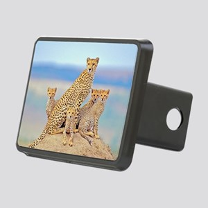 Cheetah Family Rectangular Hitch Cover