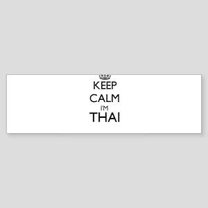 Keep Calm I'm Thai Bumper Sticker