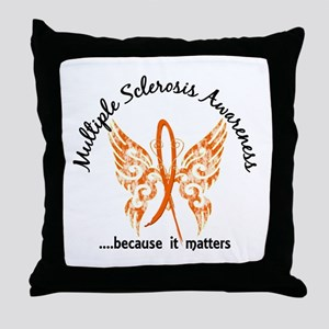 MS Butterfly 6.1 Throw Pillow