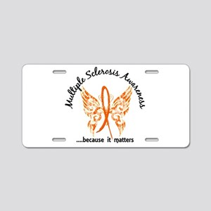 MS Butterfly 6.1 Aluminum License Plate