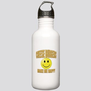 Cheeseburgers-Design 2 Stainless Water Bottle 1.0L