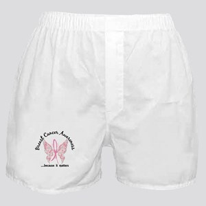 Breast Cancer Butterfly 6.1 Boxer Shorts