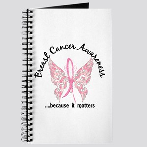 Breast Cancer Butterfly 6.1 Journal