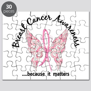 Breast Cancer Butterfly 6.1 Puzzle