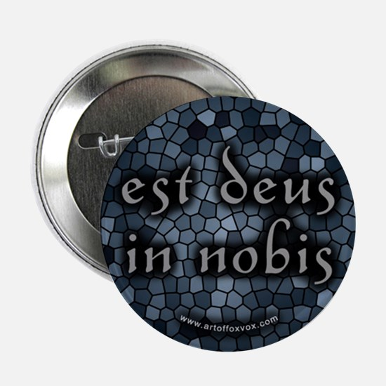 God Inside Us (Latin) Button