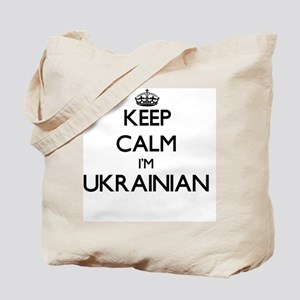 Keep Calm I'm Ukrainian Tote Bag