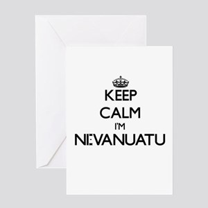 Keep Calm I'm Ni-Vanuatu Greeting Cards