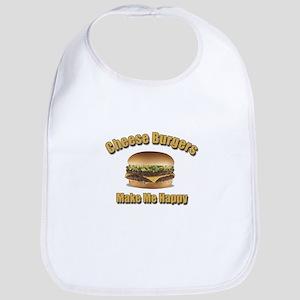 Cheese Burgers Design 1b Bib