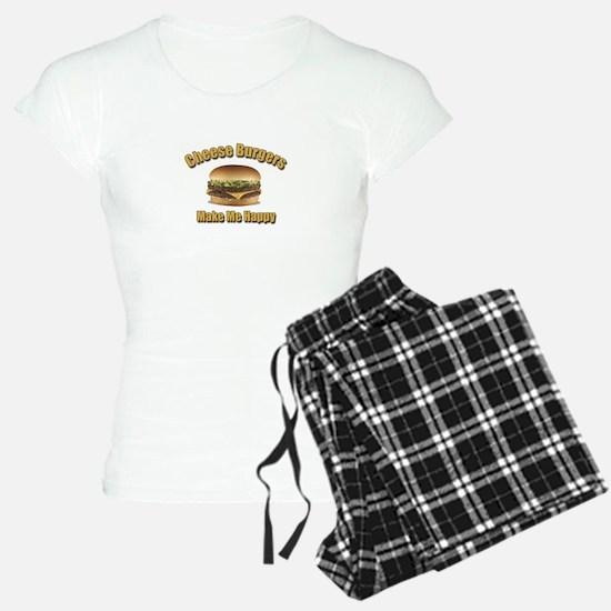 Cheese Burgers Design 1b Pajamas