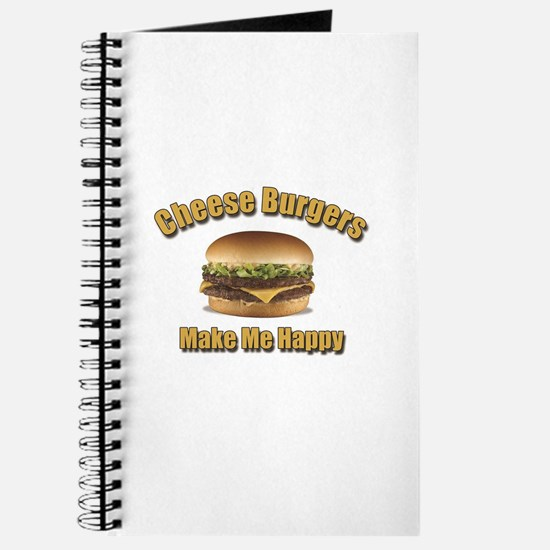 Cheese Burgers Design 1b Journal