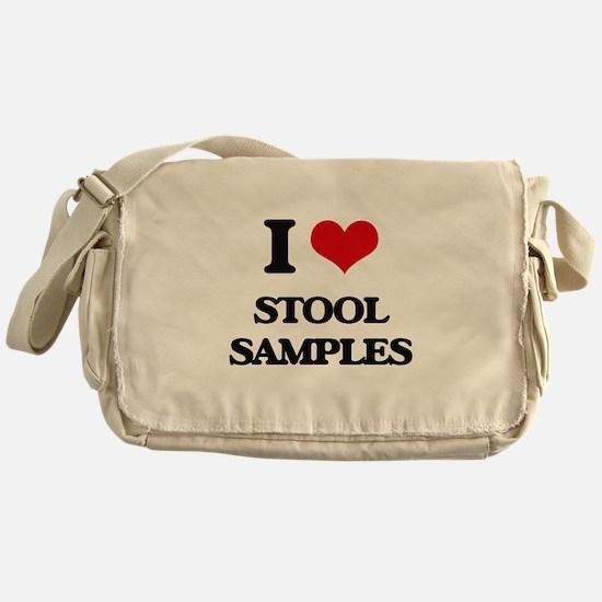 I love Stool Samples Messenger Bag