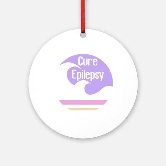 WFM Cure Epilepsy Ornament (Round)