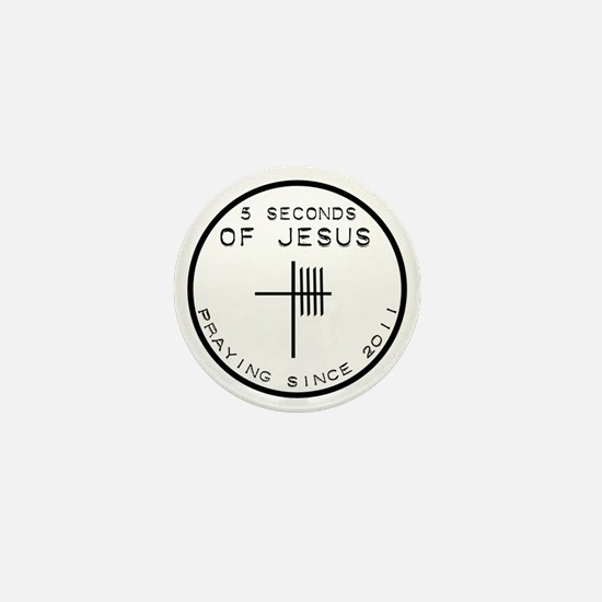5 Seconds Of Jesus Mini Button