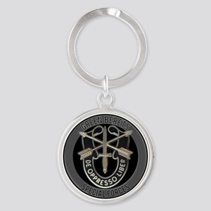 Special Forces Green Berets Keychains