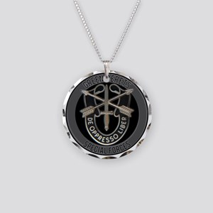 Special Forces Green Berets Necklace