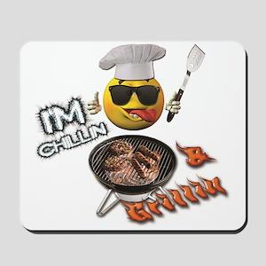 Chillin & Grillin Design 1 Mousepad