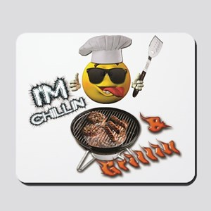 Chillin & Grillin Design 1 Mousepad