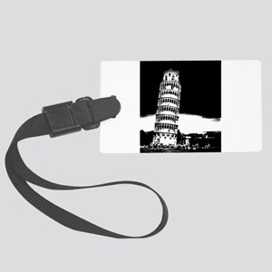 Leaning Tower Large Luggage Tag