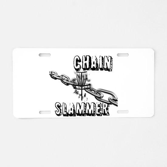 Chain Slammer Aluminum License Plate