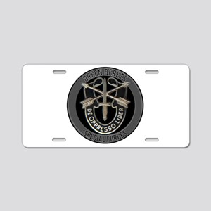 Special Forces Green Berets Aluminum License Plate