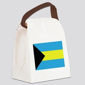 The Bahamas Flag Canvas Lunch Bag