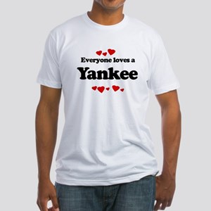 Everyone loves a Yankee Fitted T-Shirt