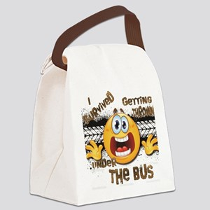 I Survived-Design 2 Canvas Lunch Bag