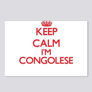 Keep Calm I'm Congolese Postcards (Package of 8)