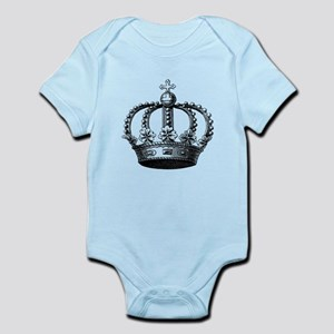 King's Crown Black White Body Suit