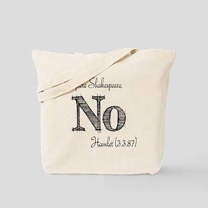 Quote Hamlet No Tote Bag