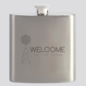 Farm Welcome Flask