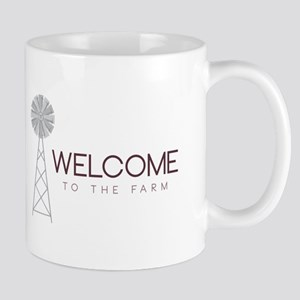 Farm Welcome Mugs