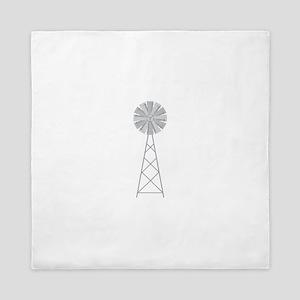 Farm Windmill Queen Duvet