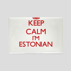 Keep Calm I'm Estonian Magnets