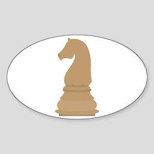 Chess Piece Knight Sticker