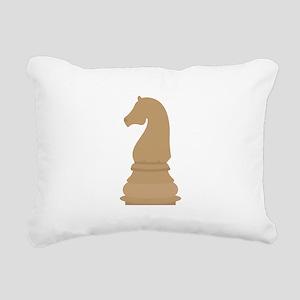 Chess Piece Knight Rectangular Canvas Pillow