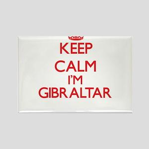 Keep Calm I'm Gibraltar Magnets