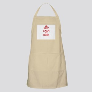 Keep Calm I'm Greek Apron