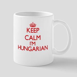 Keep Calm I'm Hungarian Mugs