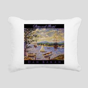 Impressionism Rectangular Canvas Pillow