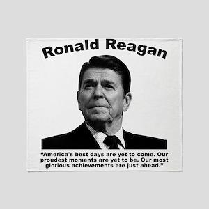 Reagan: America Throw Blanket