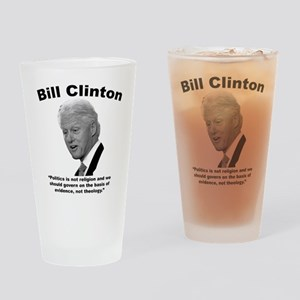 Clinton: Govern Drinking Glass