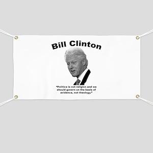 Clinton: Govern Banner