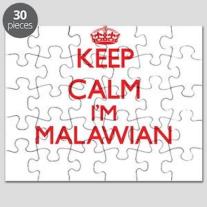 Keep Calm I'm Malawian Puzzle